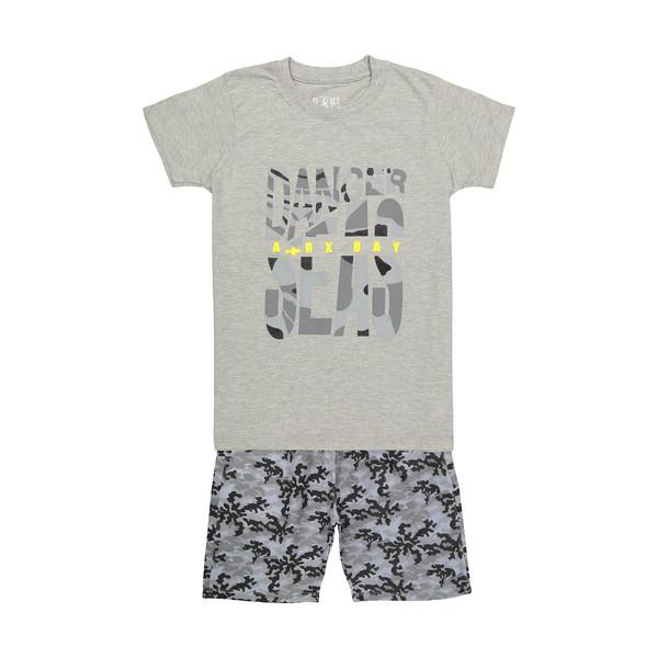 ست تی شرت و شلوارک پسرانه سون پون مدل 1391293-90
