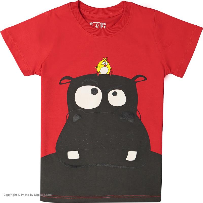 ست تی شرت و شلوارک راحتی پسرانه سون پون مدل 1391291-72