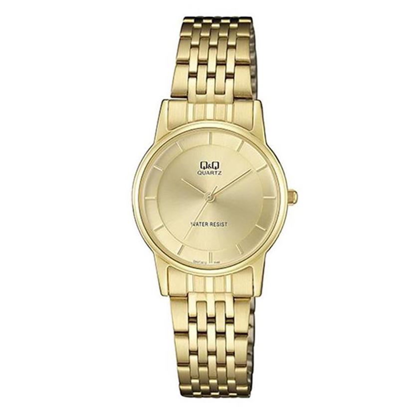 ساعت مچی عقربه ای زنانه  کیو اند کیو مدل QA57j010y              ارزان