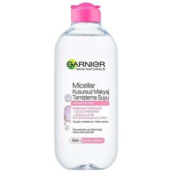 محلول پاک کننده آرایش صورت گارنیه مدل Skin Naturals حجم 400 میلی لیتر