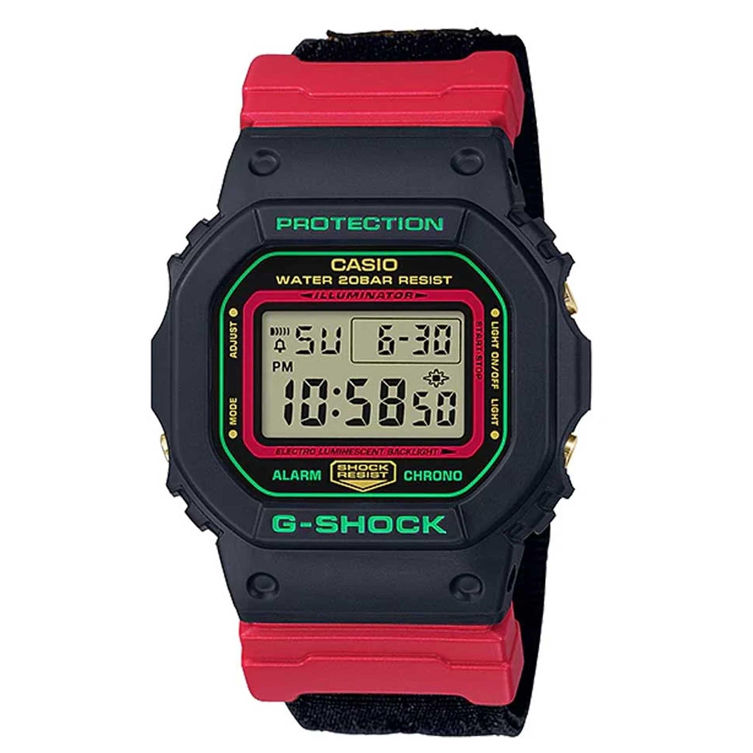ساعت مچی دیجیتال مردانه کاسیو مدل DW-5600THC-1DR             قیمت