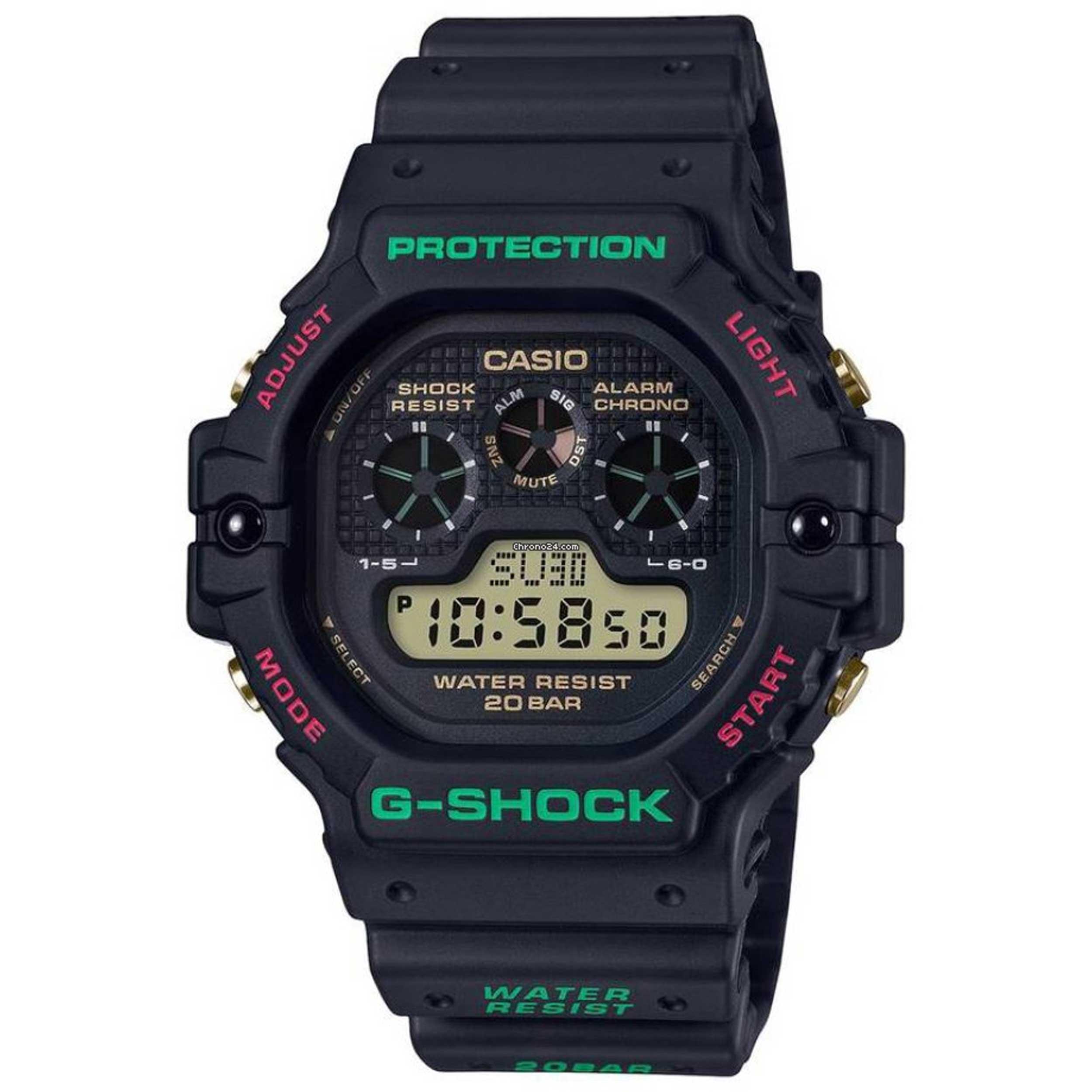 ساعت مچی دیجیتال مردانه کاسیو مدل DW-5900TH-1DR