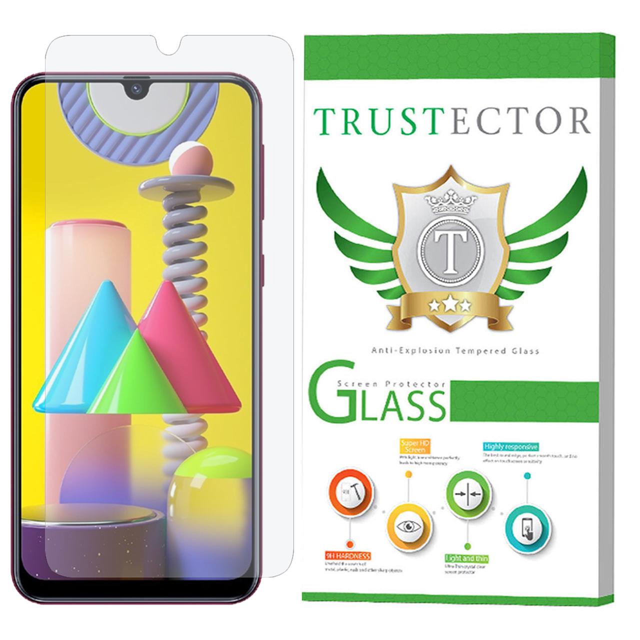 محافظ صفحه نمایش تراستکتور مدل GLS مناسب برای گوشی موبایل سامسونگ Galaxy M31               ( قیمت و خرید)