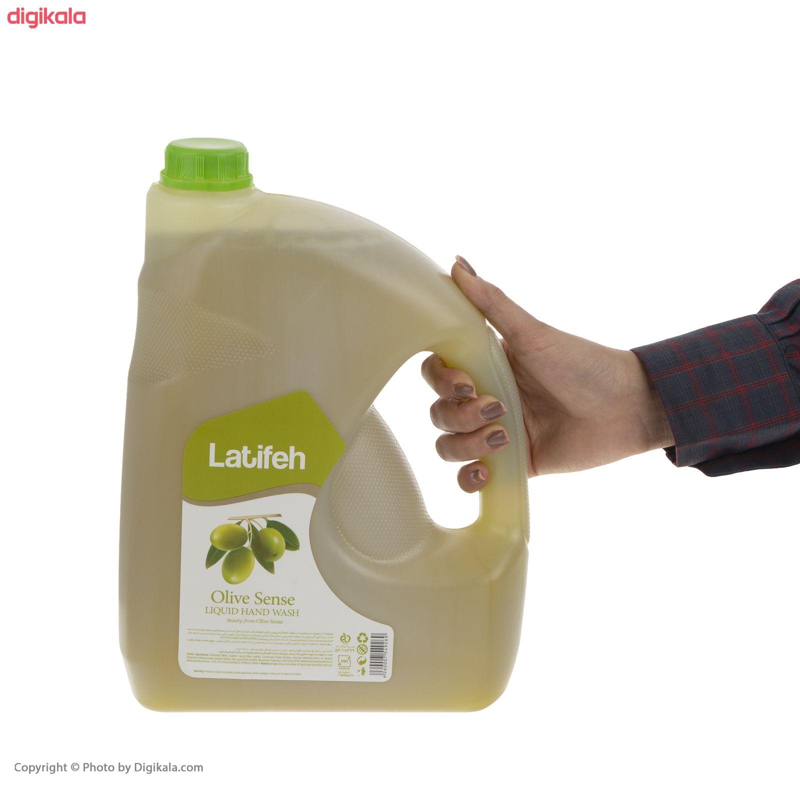 مایع دستشویی لطیفه مدل Olive Sense وزن 3.8 کیلوگرم main 1 4