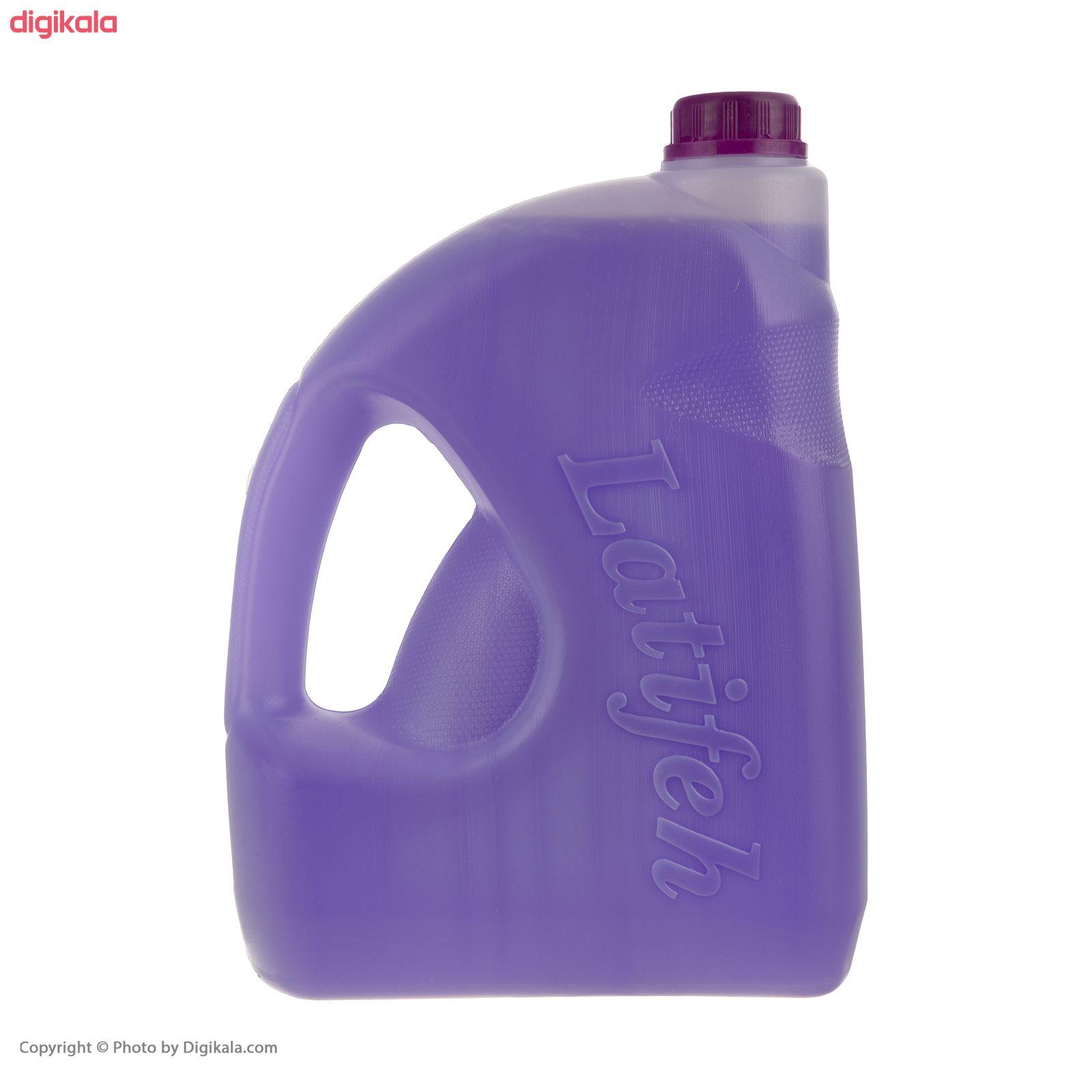 مایع دستشویی لطیفه مدل  Violet Flower وزن 3.8 کیلوگرم main 1 3