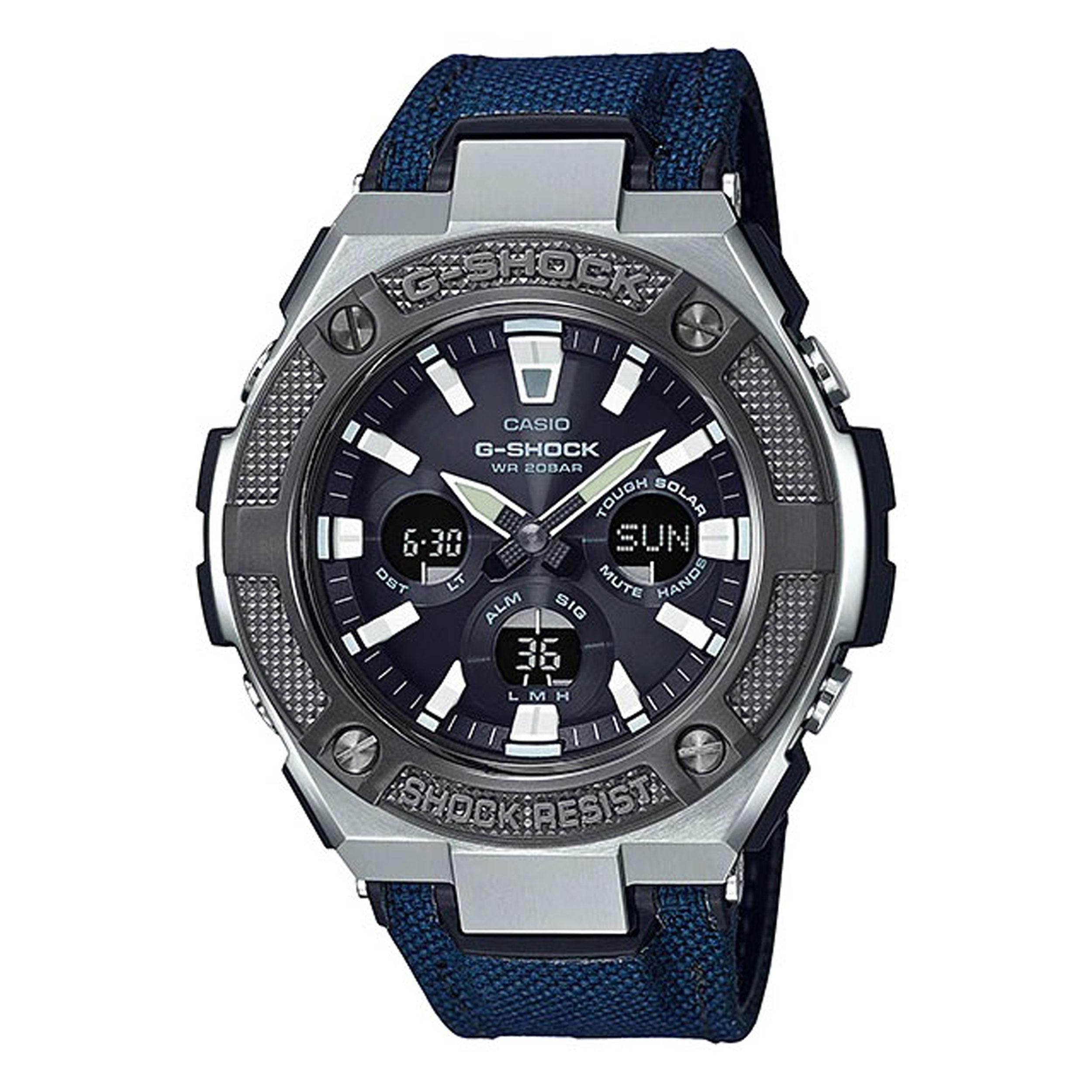ساعت مچی عقربه ای مردانه کاسیو مدل GST-S330AC-2ADR              ارزان