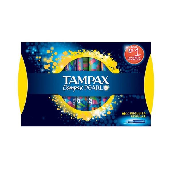 تامپون تامپکس مدل  Pearl compak بسته 24 عددی