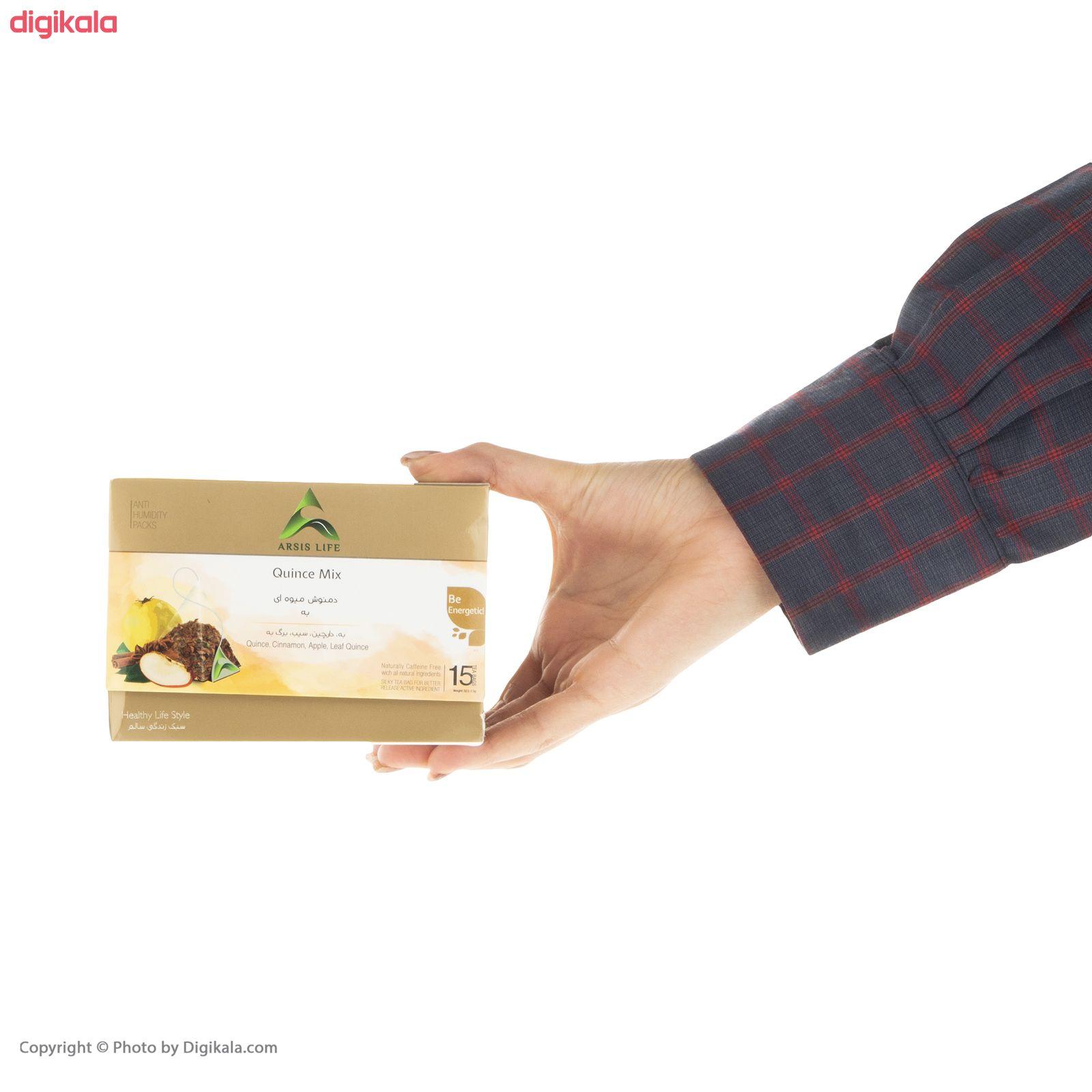 دمنوش میوه ای به  آرسیس - بسته 15 عددی main 1 4