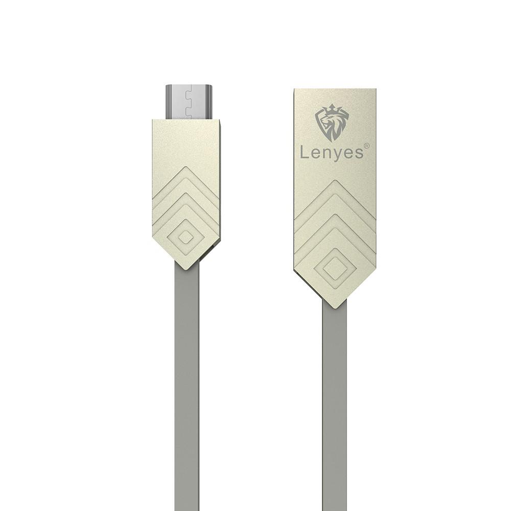 کابل تبدیل USB به microUSB لنیز مدل LC801V به طول 1 متر