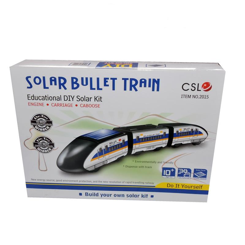 کیت آموزشی کیوت سان لایت مدل قطار خورشیدی