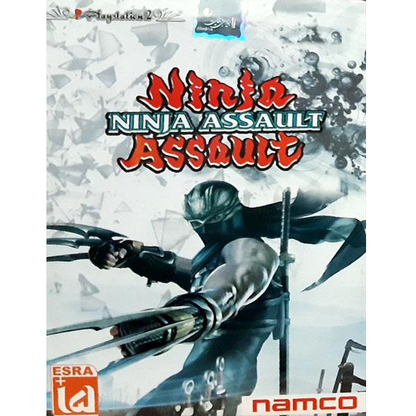 خرید اینترنتی بازی NINJA ASSAULT مخصوص PS2 اورجینال
