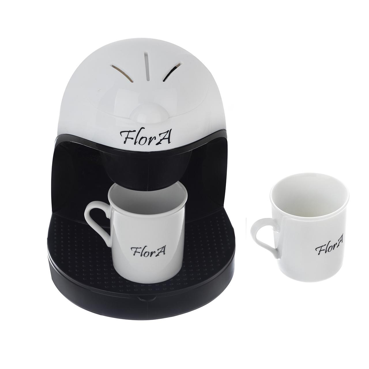 قیمت                      قهوه ساز فلورا مدل F800