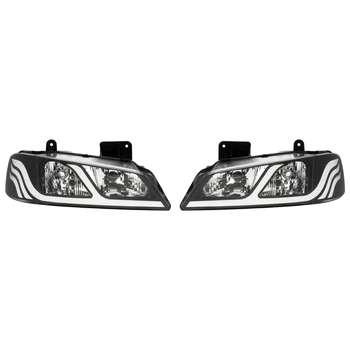 چراغ جلو خودرو مدل SH03 مناسب برای پژو پارس بسته دو عددی