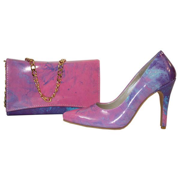 ست کیف و کفش زنانه کد 317