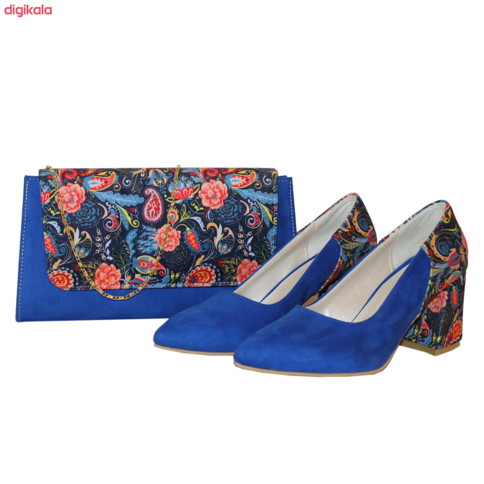 ست کیف و کفش زنانه کد 221 main 1 2