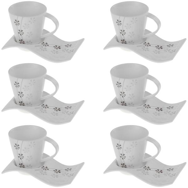 سرویس چای خوری 12 پارچه شفر کد 24