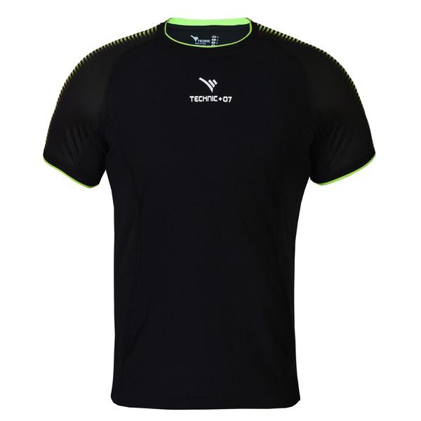تیشرت ورزشی مردانه تکنیک پلاس 07 کد TS-132-ME-FO