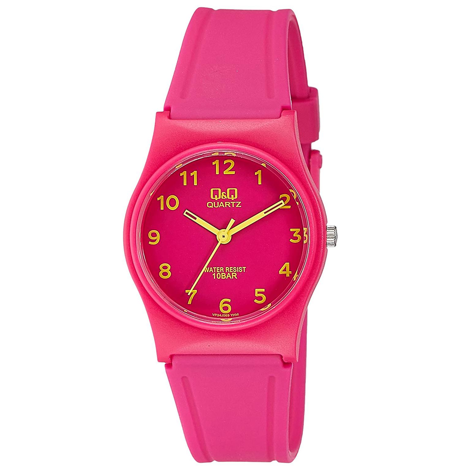 خرید و قیمت                      ساعت مچی  زنانه کیو اند کیو مدل Vp34j069Y