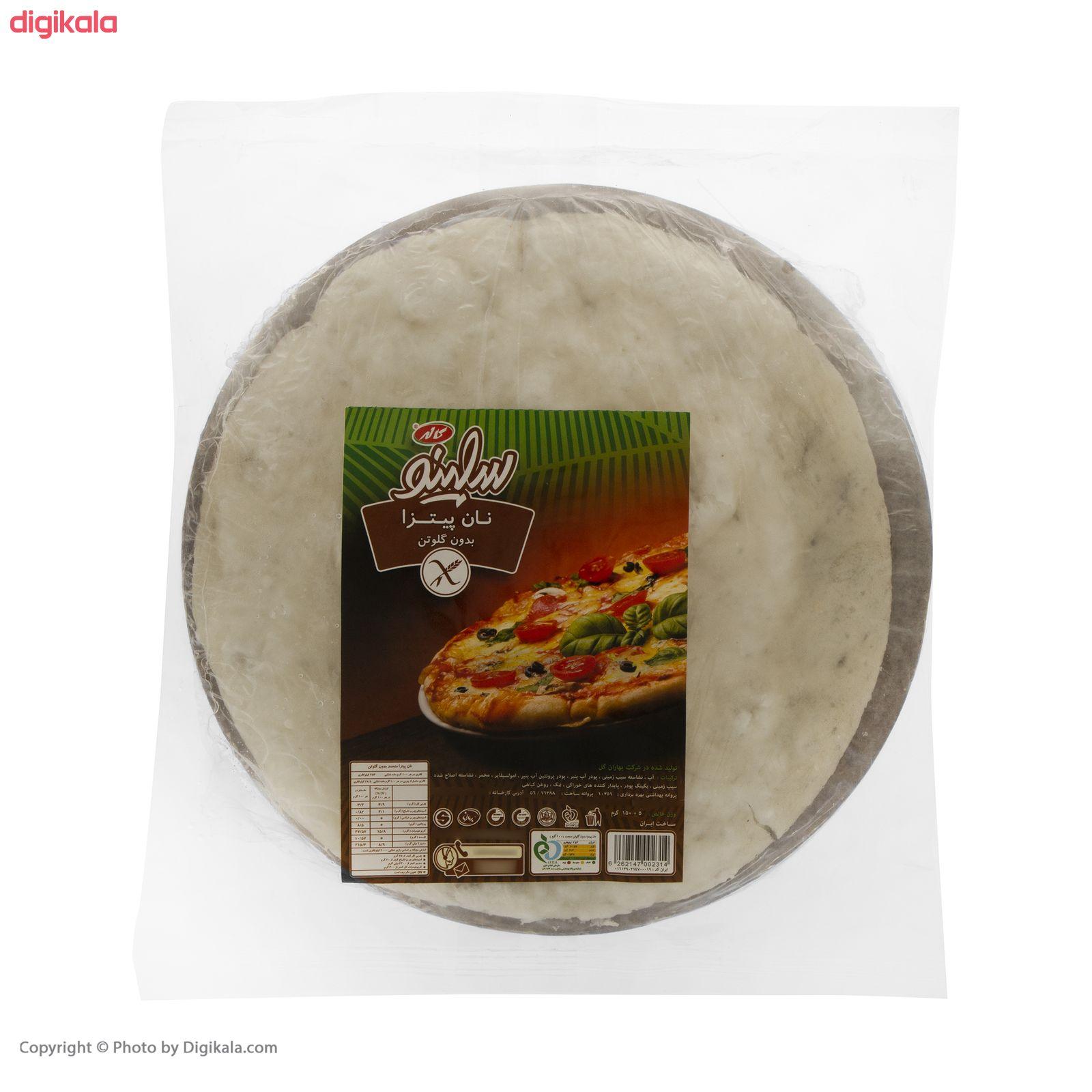 نان پیتزا بدون گلوتن سلینو - 150 گرم  main 1 1
