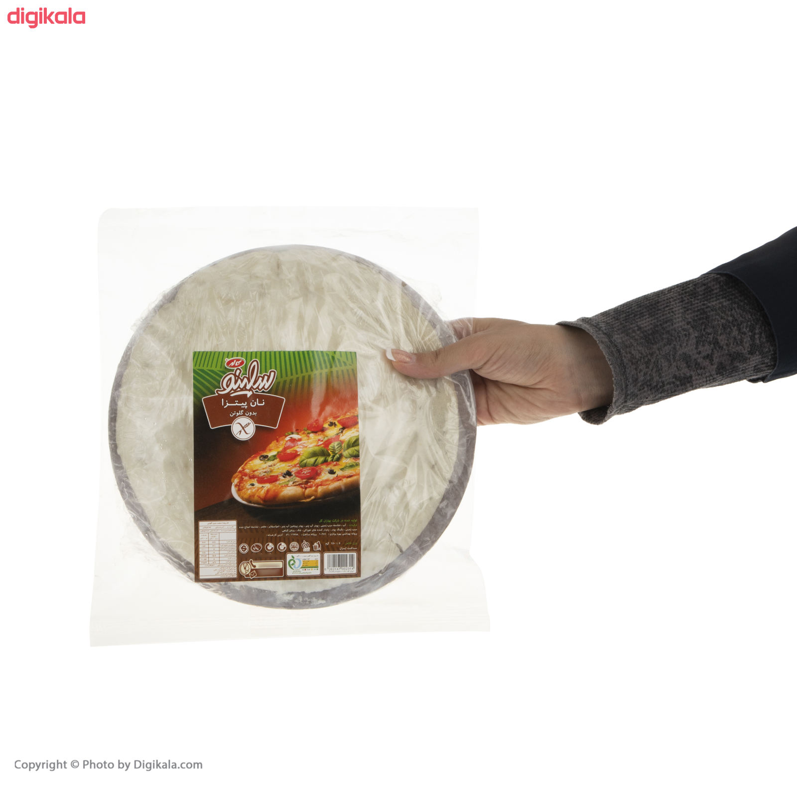 نان پیتزا بدون گلوتن سلینو - 150 گرم  main 1 4