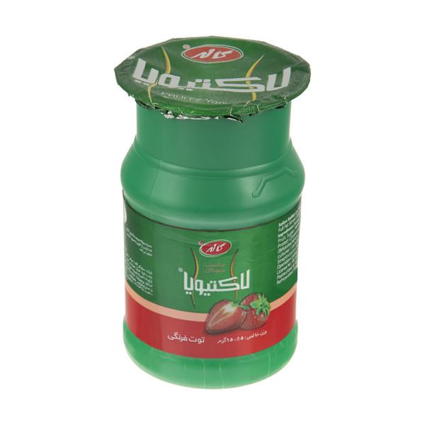 ماست میوه ای لاکتیویا کاله با طعم توت فرنگی  - 150 گرم