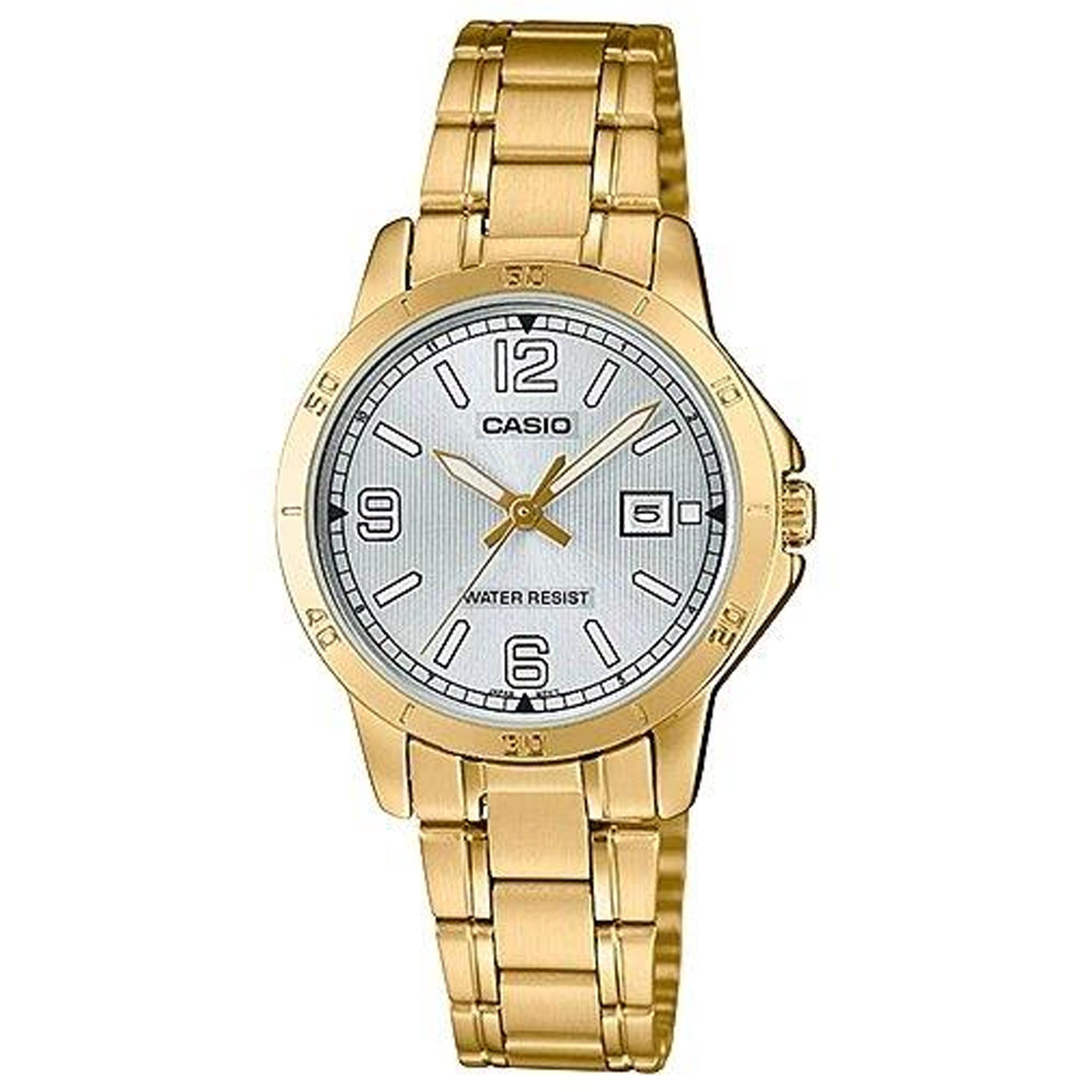 ساعت مچی عقربه ای زنانه کاسیو مدل LTP-V004G-7B2UDF              ارزان
