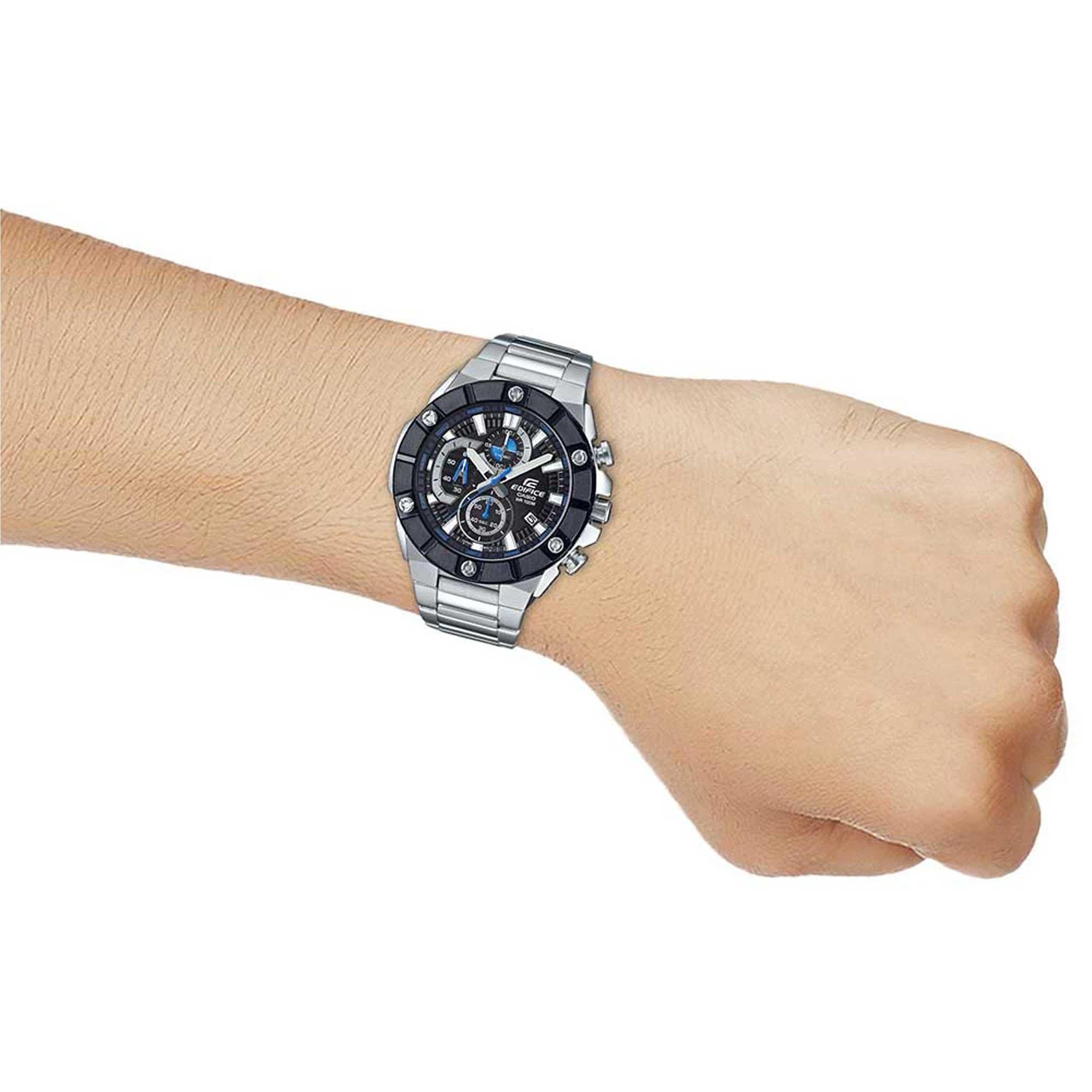 ساعت مچی عقربه ای مردانه کاسیو مدل EFR-569DB-1AVUDF              خرید (⭐️⭐️⭐️)