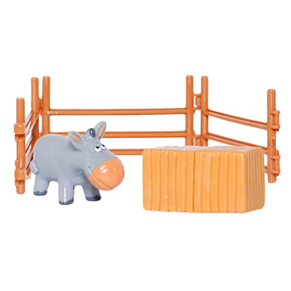 فیگور طرح مزرعه حیوانات مدل الاغ بسته 3 عددی