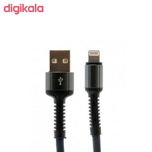 کابل تبدیل USB به لایتنینگ الدینیو مدل LS64 طول 2 متر main 1 3