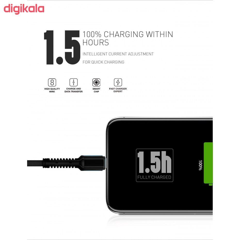 کابل تبدیل USB به لایتنینگ الدینیو مدل LS64 طول 2 متر main 1 7