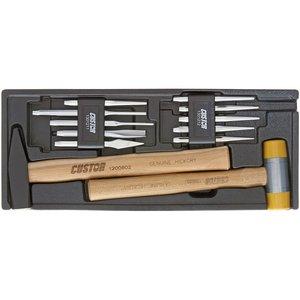 مجموعه 12 عددی قلم و چکش کاستور مدل HP-13012S