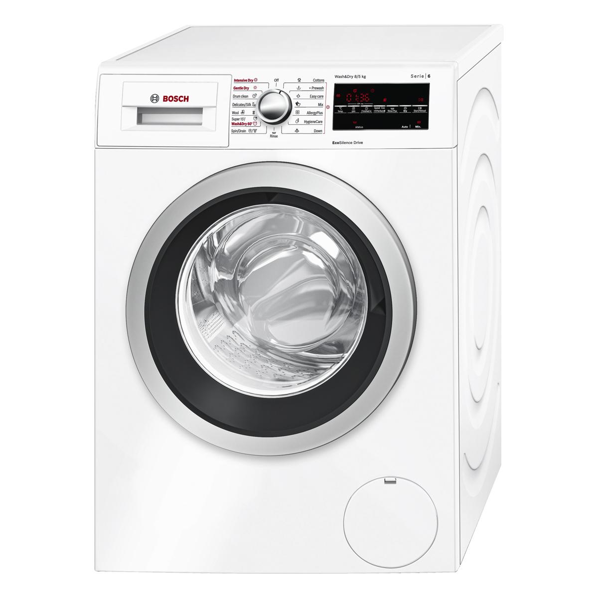 ماشین لباسشویی بوش مدل WVG30460IR ظرفیت 8 کیلوگرم