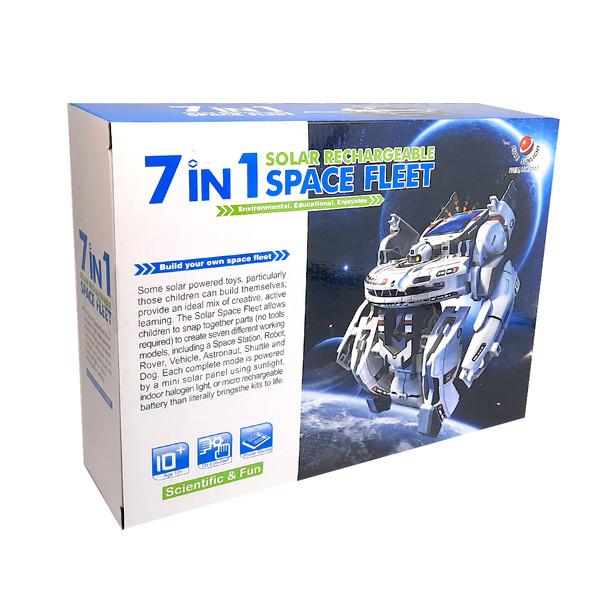 کیت آموزشی کیوت سان لایت مدل space fleet 7