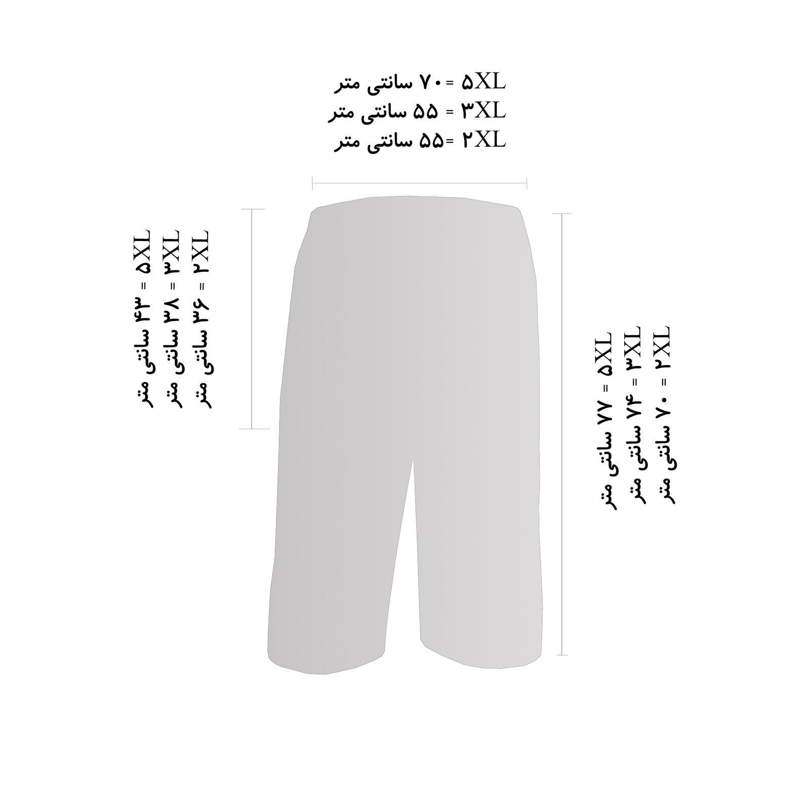 شلوارک مردانه فتوحی کد TKR-30405 -  - 4