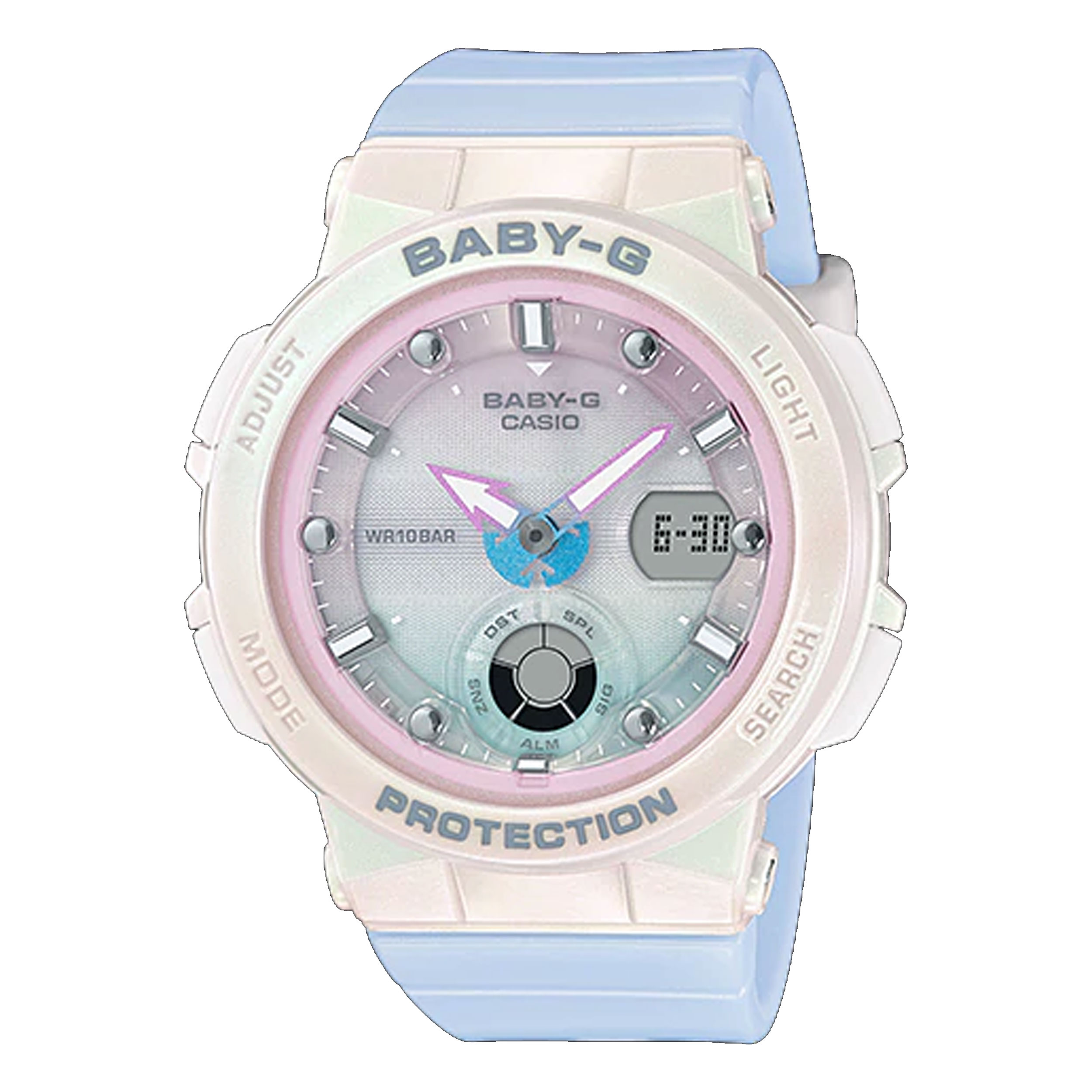 ساعت مچی عقربه ای زنانه کاسیو مدل BGA-250-7A3DR              خرید (⭐️⭐️⭐️)