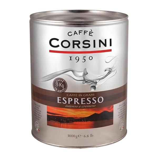 دانه قهوه کورسینی اسپرسو - 3000 گرم