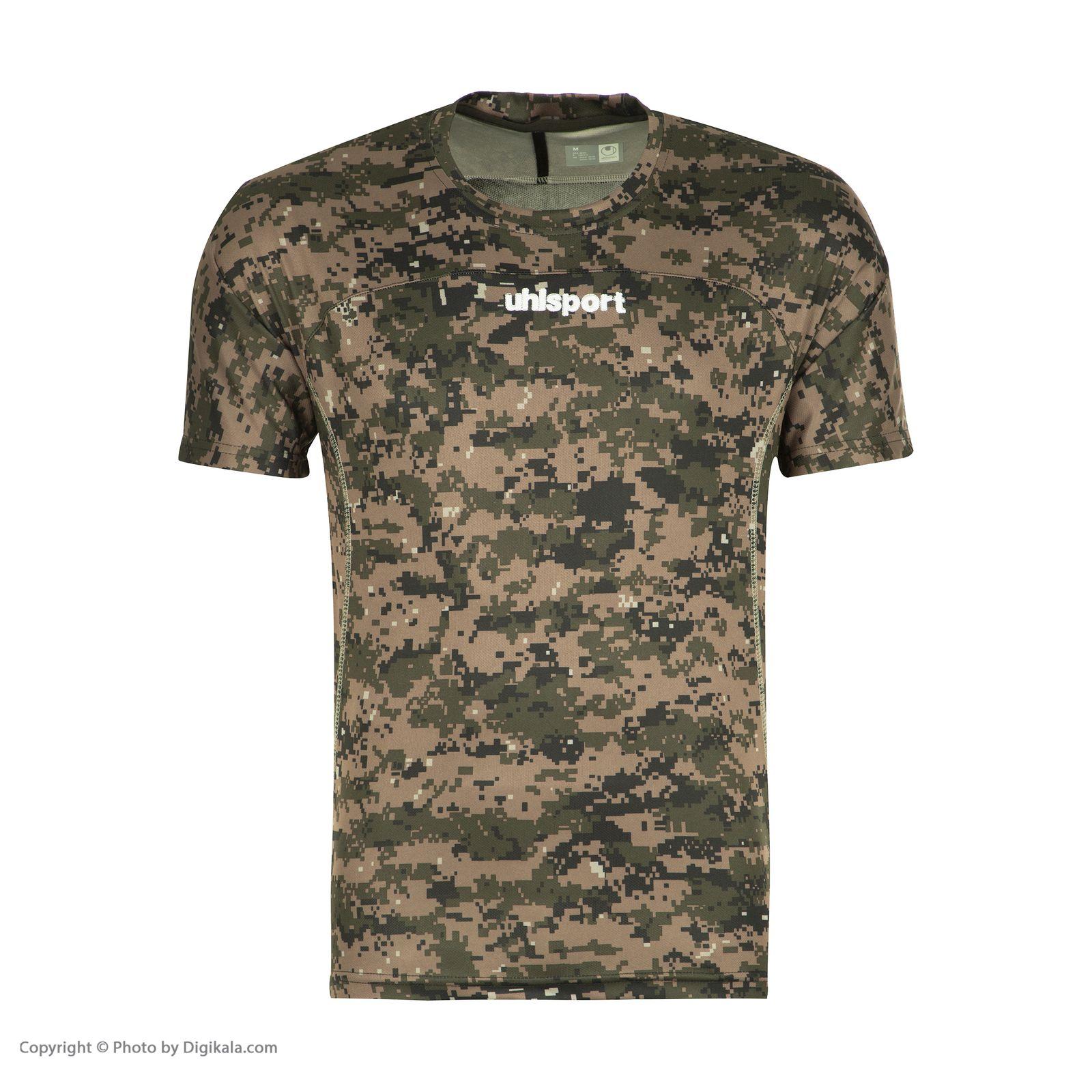 تصویر تی شرت ورزشی مردانه آلشپرت مدل MUH378-001