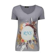 تی شرت زنانه آر ان اس مدل 1102073-93