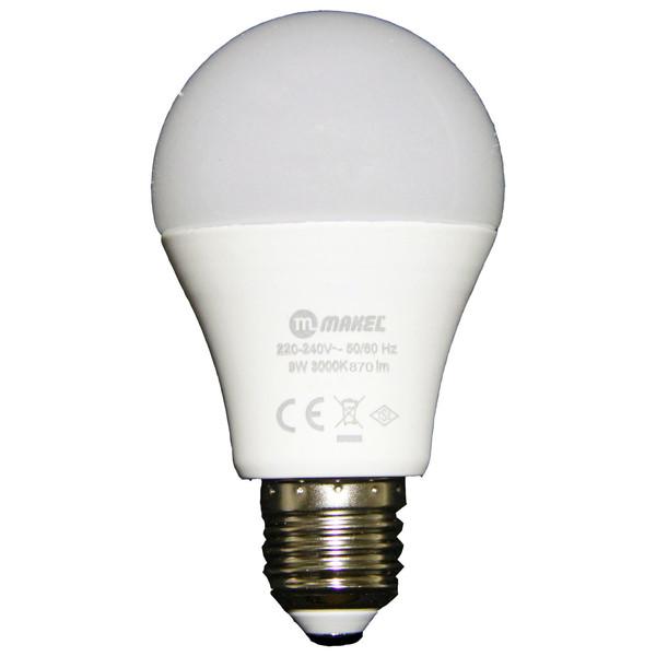 لامپ ال ای دی 9 وات ماکل مدل BC09 پایه E27