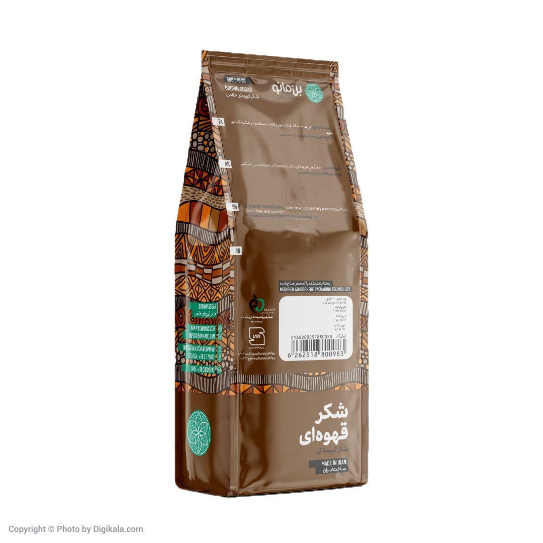 شکر قهوه ای بن مانو مقدار 500 گرم main 1 2