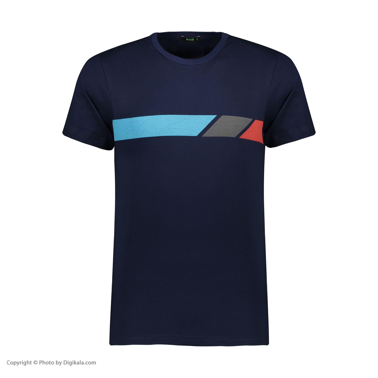 تی شرت مردانه آر ان اس مدل 1131144-59 -  - 1