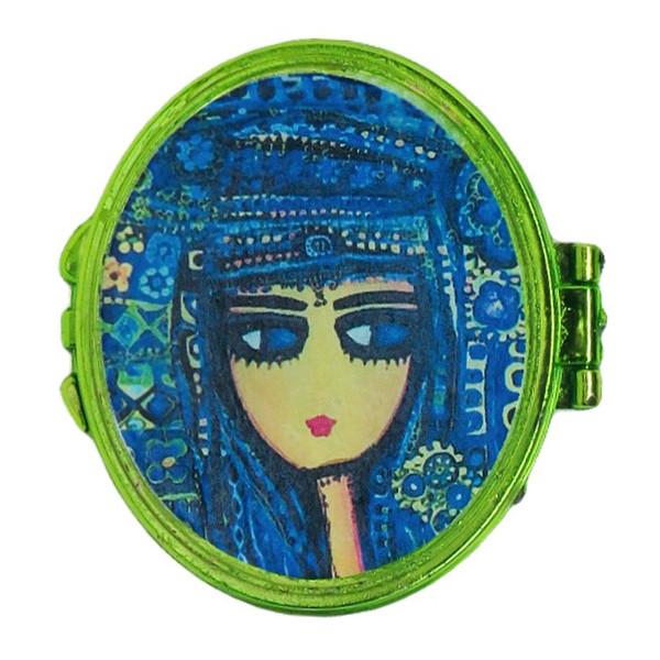 آینه جیبی مدل 012 طرح چهره