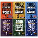 کتاب 4000 Essential English Words اثر Paul Nation انتشارات Compass Publishing شش جلدی