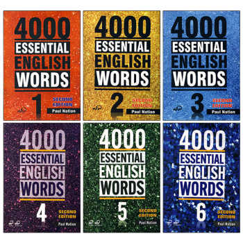کتاب 4000 Essential English Words اثر Paul Nation انتشارات Compass Publishing شش جلدی