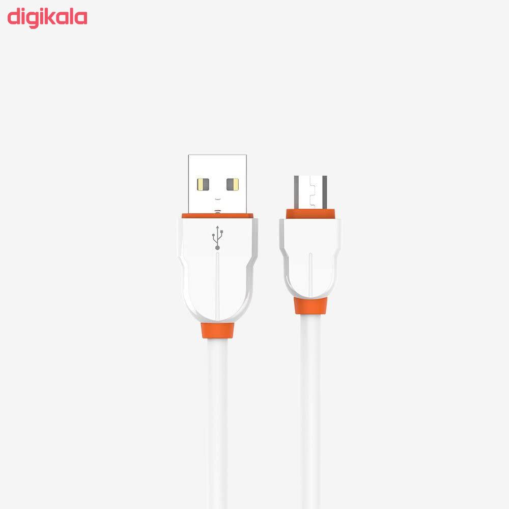 کابل تبدیل USB به microUSB الدینیو مدل LS02 طول 2 متر main 1 9