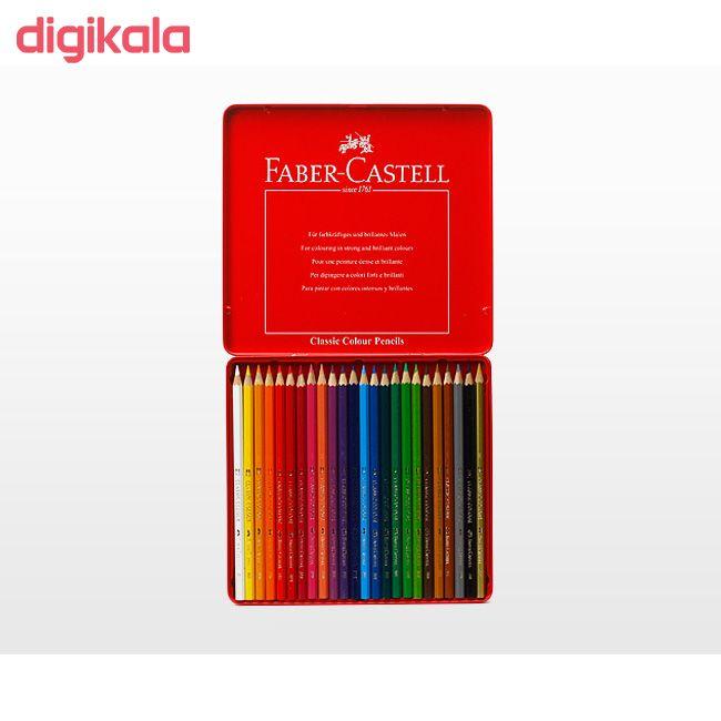 مداد رنگی 24 رنگ فابر-کاستل مدل Classic main 1 4