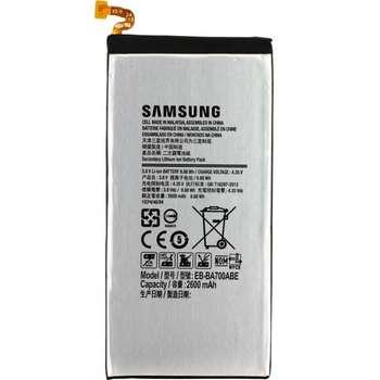 باتری موبایل مدل EB-BA700ABE ظرفیت ۲۶۰۰ میلی آمپر مناسب برای گوشی موبایل سامسونگ GALAXY A7 2015