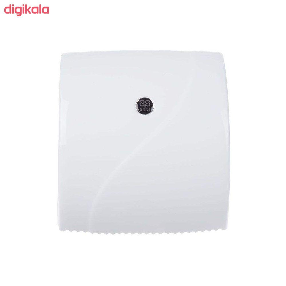 جای دستمال توالت سنی پلاستیک مدل madis2020 main 1 2
