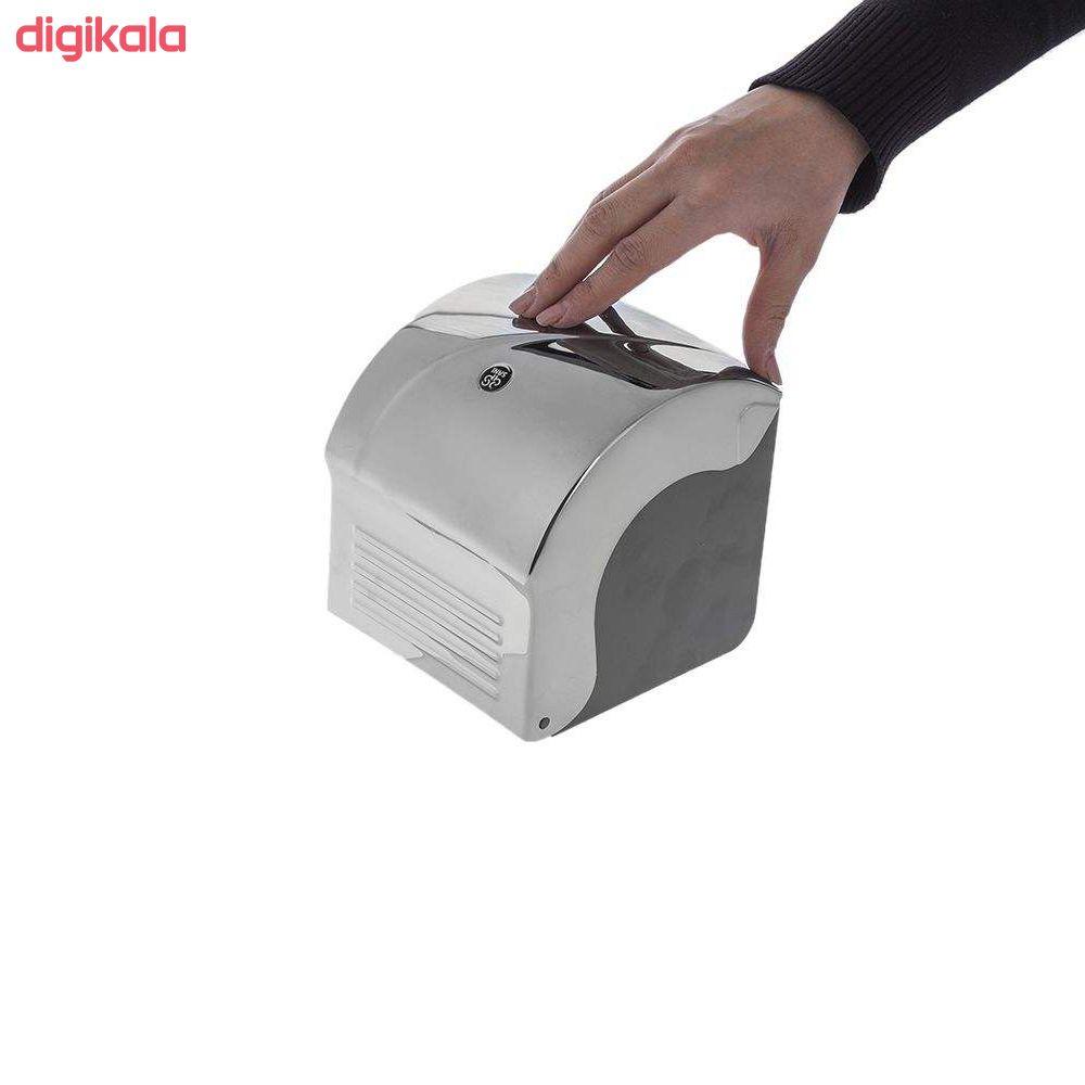 جای دستمال توالت سنی پلاستیک مدل madis2020 main 1 6