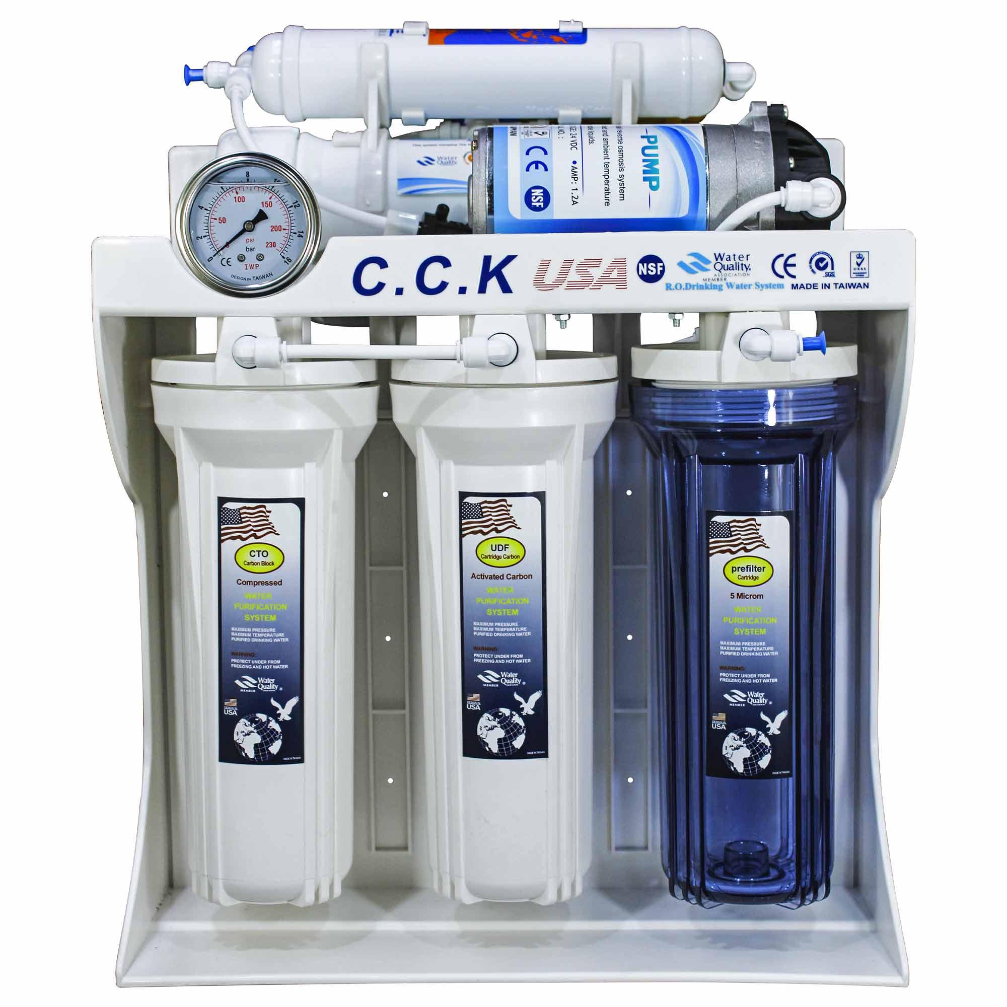 دستگاه تصفیه کننده آب سی سی کا مدل RO-W620